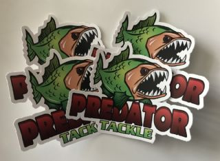Predator Tackle Stickers